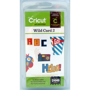 20-01424 Cricut Cartridge - Everyday Wild card 2